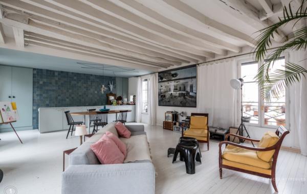 Acquisition d'un appartement à Paris