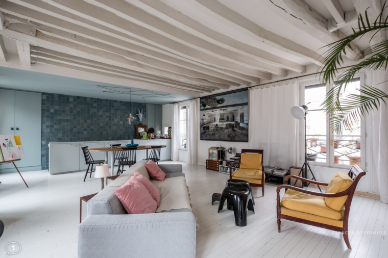 Acquisition d'un appartement à Paris